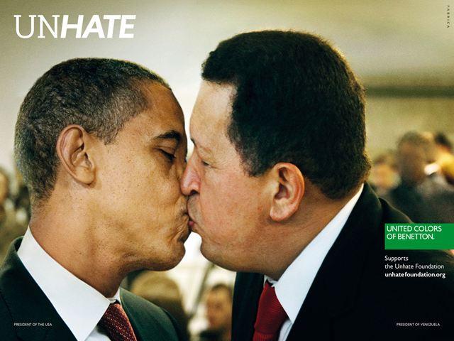 オバマ大統領&チャベス大統領(ベネズエラ)