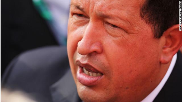 ベネズエラのチャベス大統領