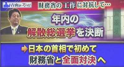 青山繁晴 アンカー6 日本の首相で初めて財務省と全面対決へ