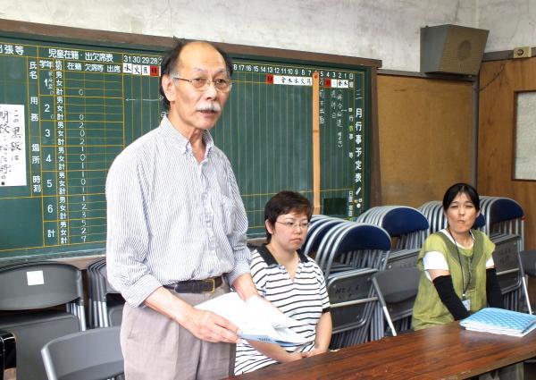 開講の挨拶:主催者代表/川口裕志