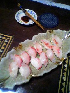 クロダイ お寿司