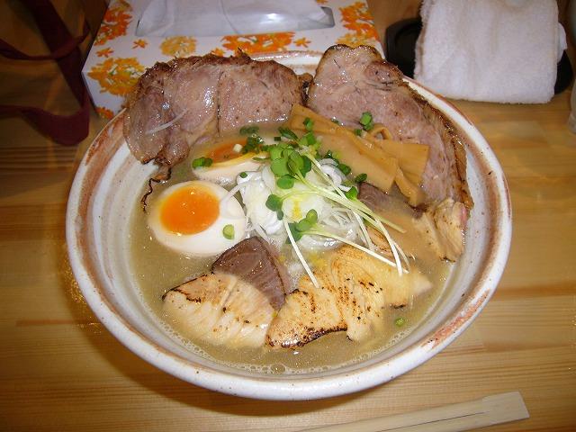 鰤塩チャ―シュウ麺