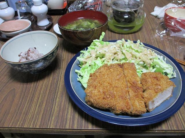 平成25年1月19日・夕食