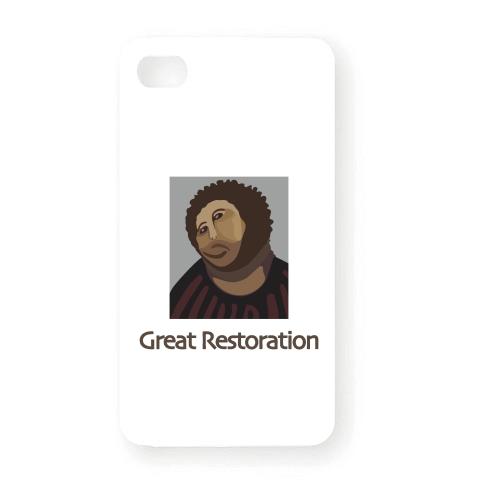 フレスコ画 iPhoneケース