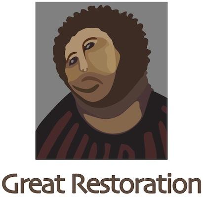 フレスコ画の偉大なる修復