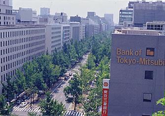 大阪御堂筋銀杏並木