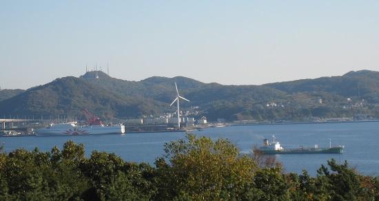 室蘭港の船1