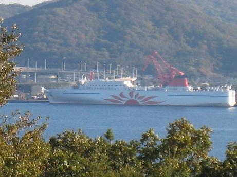 室蘭港の船2