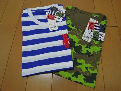 ベアブリックTシャツ (1)