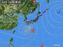 20140808 天気図