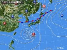 20140807 そんときの天気図