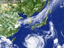 20140807 そん時のお天気衛星画像