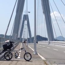 20140608 これは裏しまなみ海道の一番のでかさかな・・・
