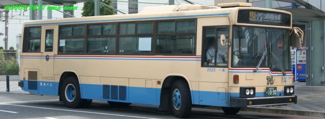 豊能生え抜き車両の1台、2525(ふそう・U-MP218K)