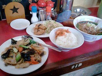 台湾料理 九龍閣 ランチセット