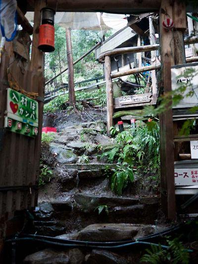 ネオ・キタロー村 雨水が流れこむ