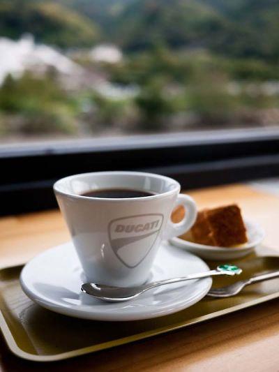ライダーズ オープンカフェ コーヒー