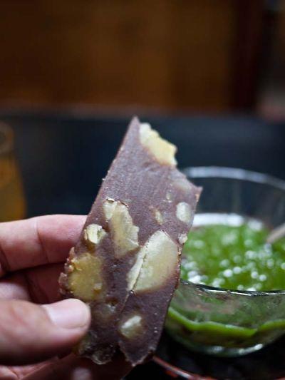 岡女堂菓子司舗  栗蒸し羊羹