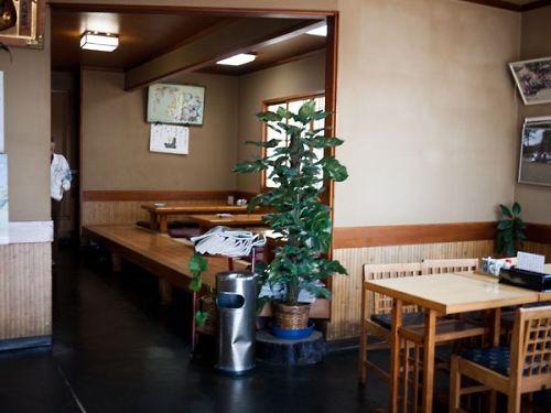 菊川 魚松 店内