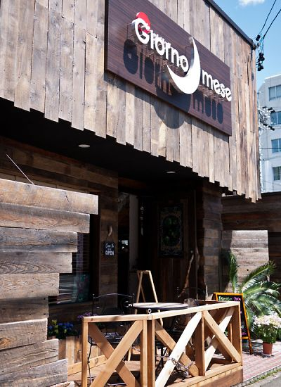 Cafe Giorno mese(カフェ ジョルノミーゼ)店の外観