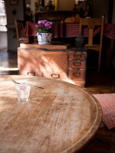 マリの家 丸テーブル