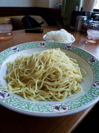カナキン亭 焼津祢宜島店 つけ麺の麺