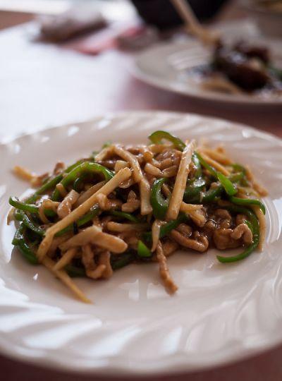 中国家庭料理 紅楼 青椒肉絲