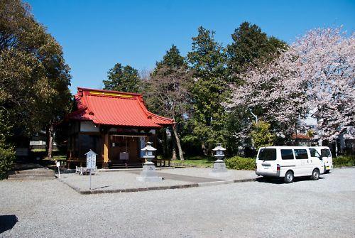 富士宮 富知神社 拝殿