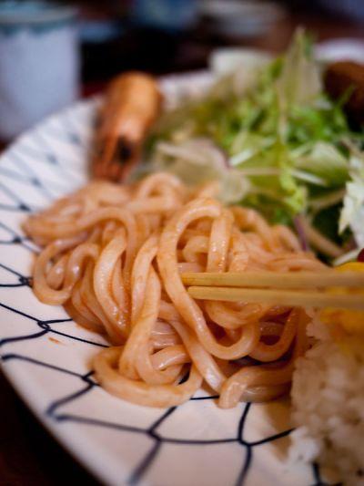 和食や 吉べえ大人のメガランチ うどんナポリタン
