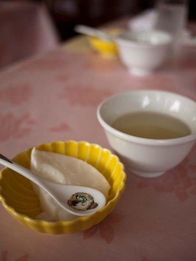中国家庭料理 紅楼 ランチの杏仁豆腐