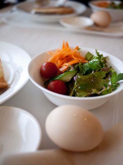 タイヨウコーヒー モーニングのサラダ
