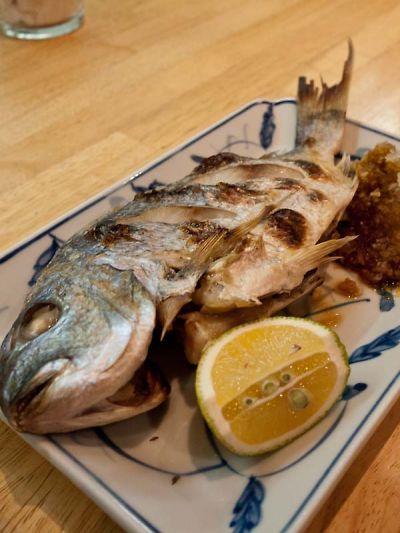 河喜久 ランチ焼き魚