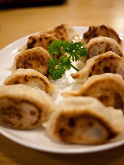 香林酒家 焼き餃子