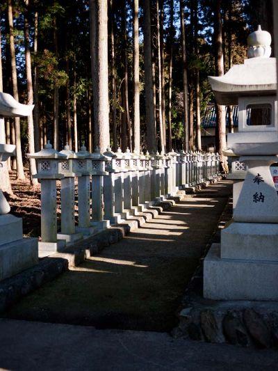 山宮浅間神社 灯篭