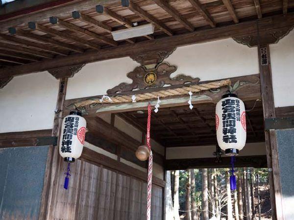 山宮浅間神社 籠屋