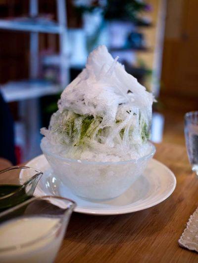フクカフェ 抹茶かき氷