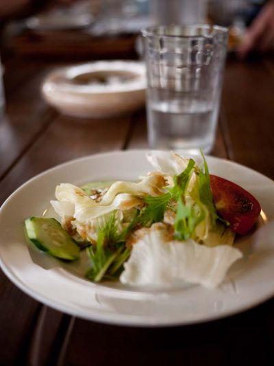 ラットハウス ランチのサラダ