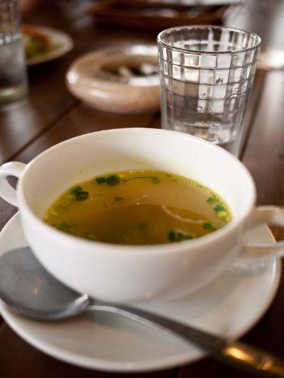 ラットハウス ランチのスープ