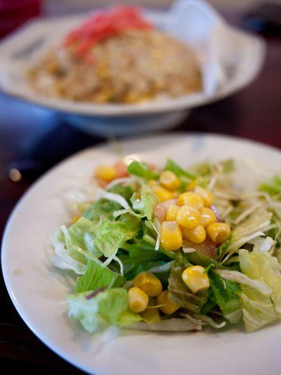 隣々 ランチタイム定食 サラダ