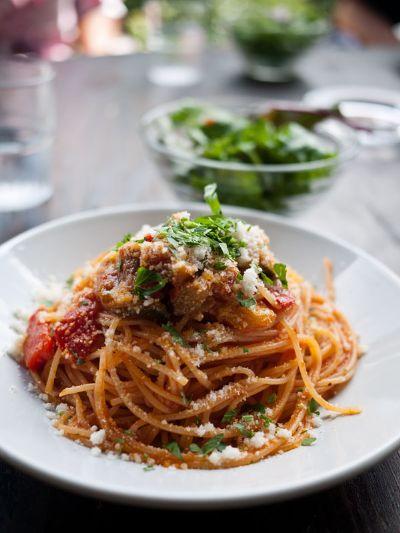 レストアンドラン ロンノバル野菜とチーズのトマトソース