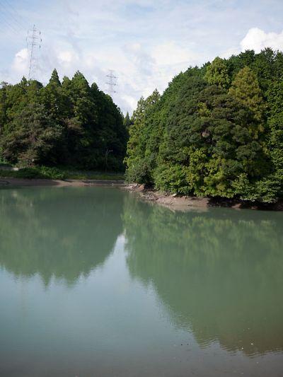 菊川の溜池1