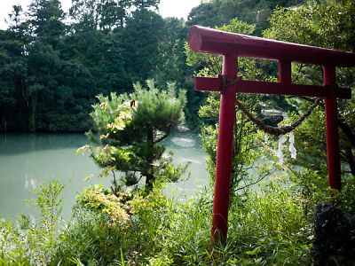 菊川の溜池4
