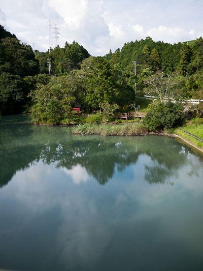 永寶寺 野猿からの景色