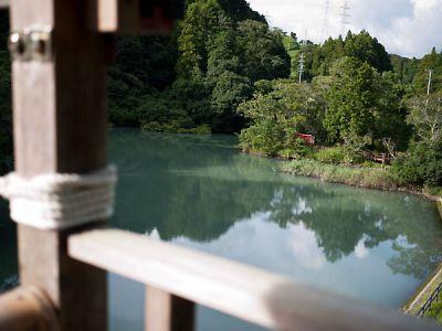 永寶寺 野猿から見下ろす下池