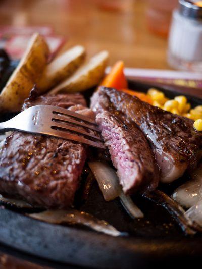 ブロンコビリー ぶどう牛ステーキ