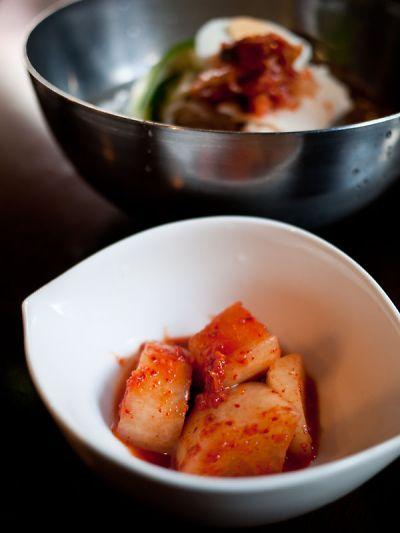 韓国家庭料理 チヂミ カクテキ