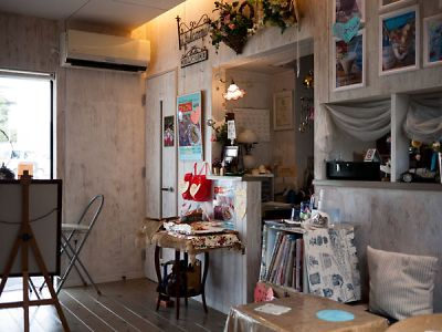 SAM'S CAFE 店内