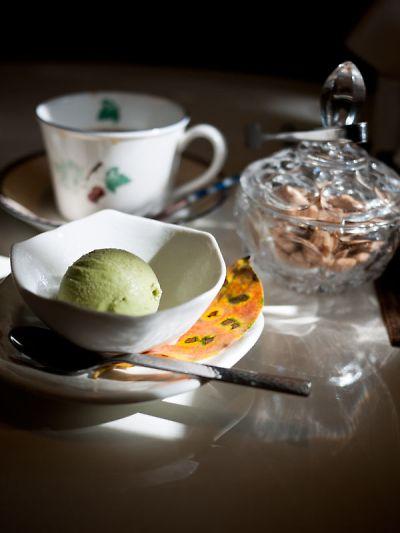 アルフォンソ・カフェ ブランチセット デザート抹茶アイス