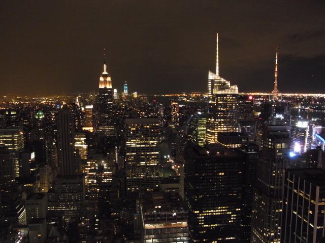 夜のマンハッタン一望!