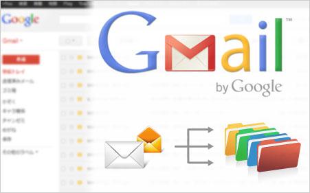 Gmailのフィルタを設定してグループごとにメールを振り分ける方法